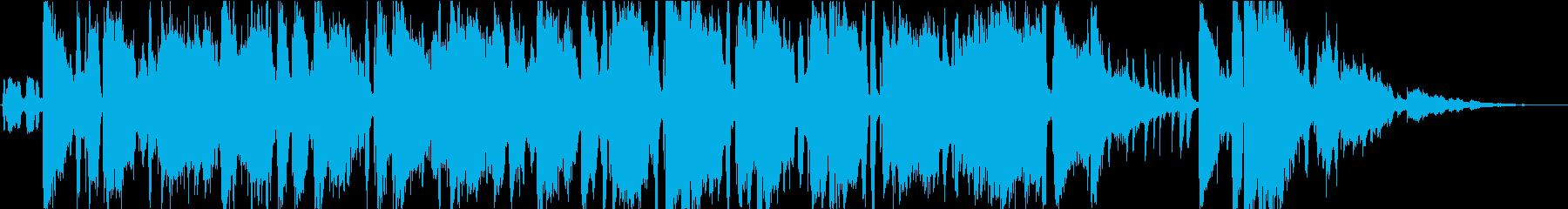 バーやラウンジを連想 ジャズフュージョンの再生済みの波形