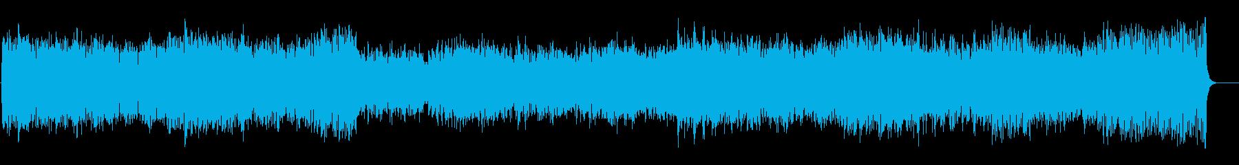 スケールの大きいクラシカルなオーケストラの再生済みの波形