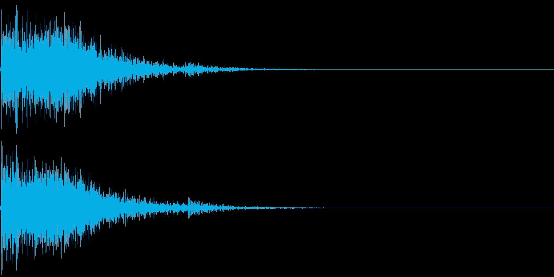 恐怖 衝撃 斬撃 惨劇 怖い 怪談 08の再生済みの波形