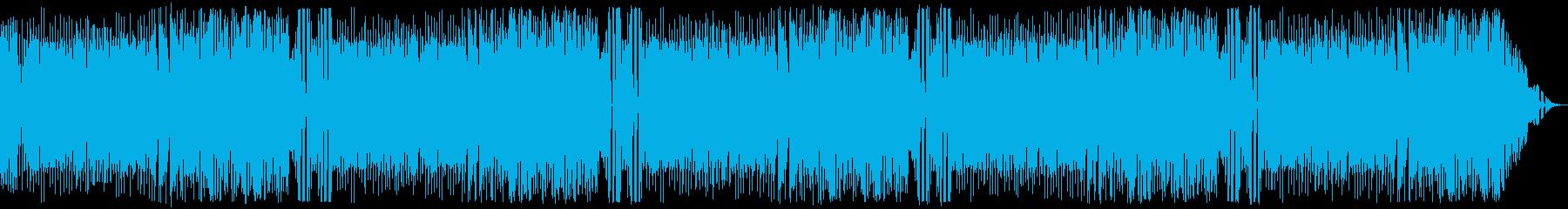 レトロゲーム:定番のカッコいい系の再生済みの波形