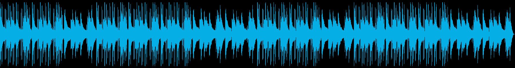 おしゃれで落ち着いたLoFiHipHopの再生済みの波形