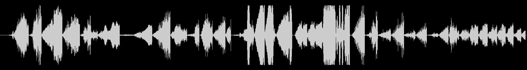 イメージ グリッチトークFX 10の未再生の波形