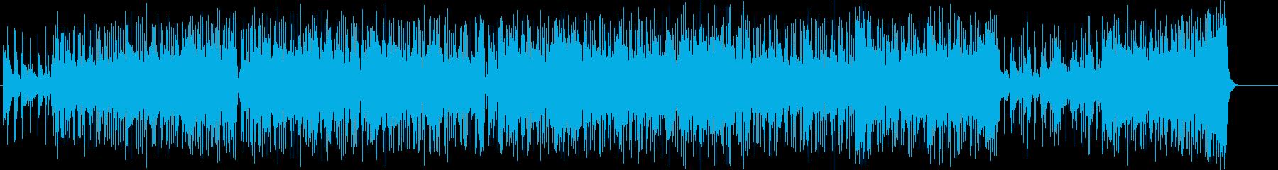 ストレートでダイナミックなアジッドジャズの再生済みの波形