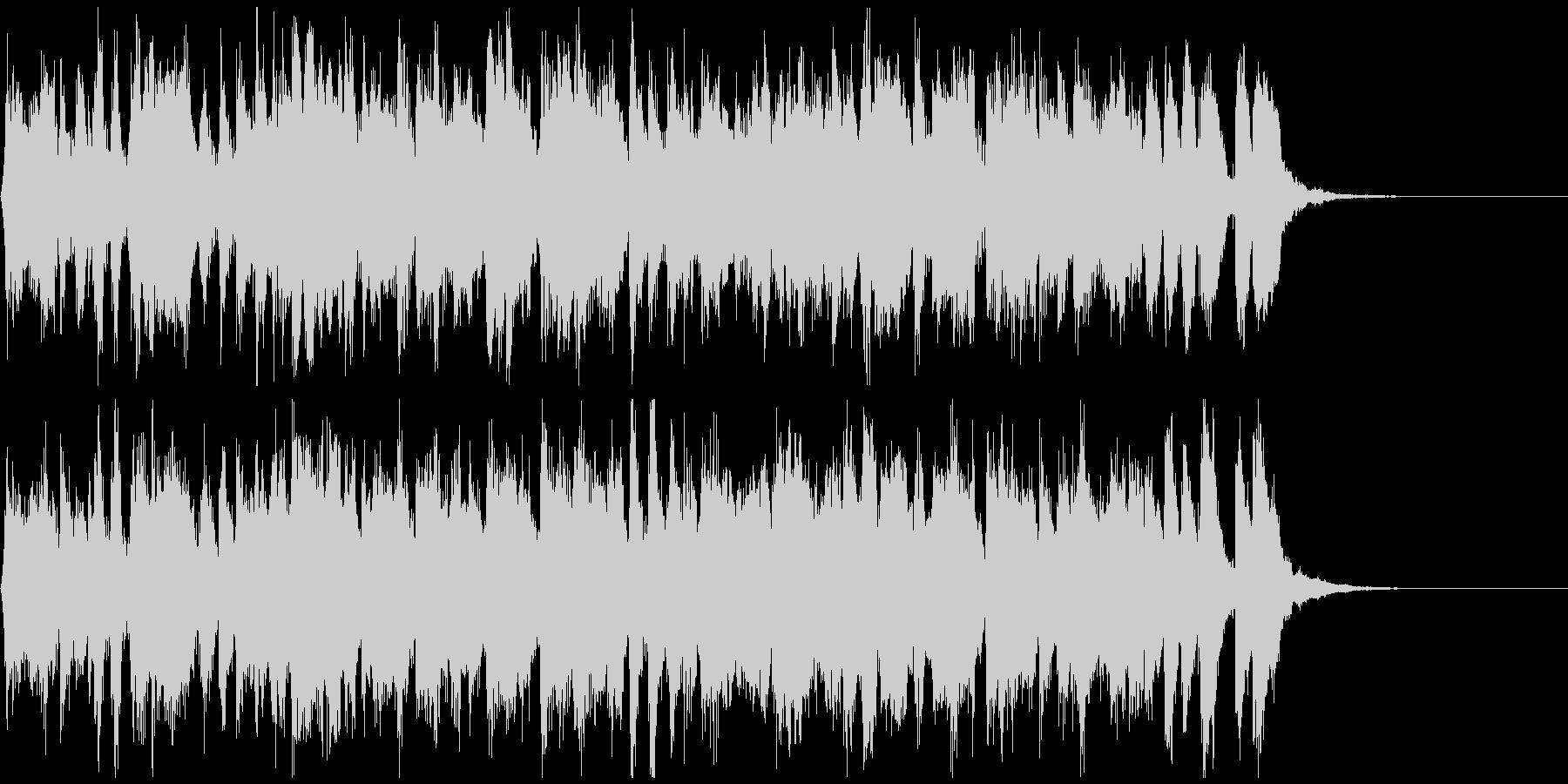陽気なラテン生フルート◆CM向け15秒曲の未再生の波形
