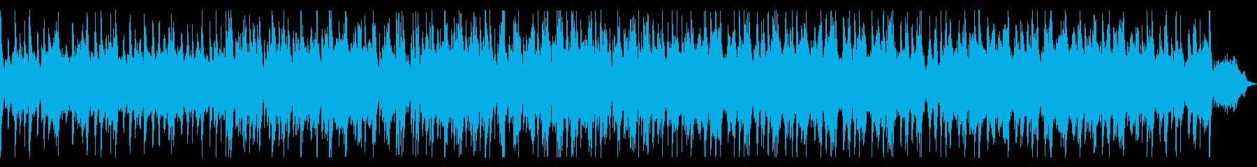 三拍子のほのぼのとしたジャズの再生済みの波形