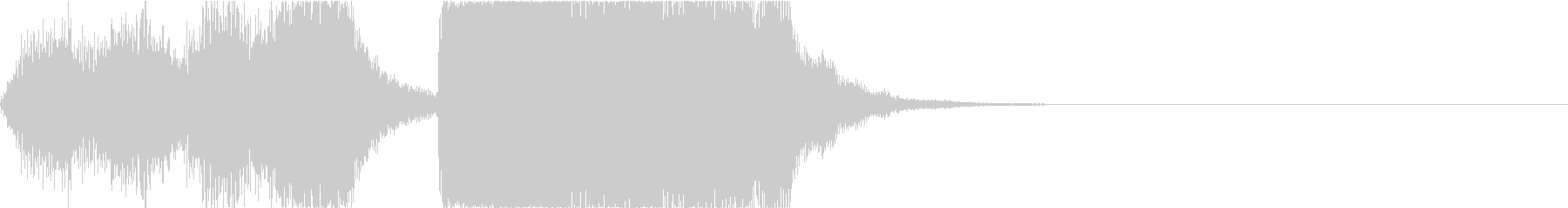 ゲーム向け破滅的なオーケストラジングルの未再生の波形