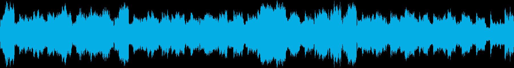 弦楽器ループ音源(和風でしんみり)の再生済みの波形