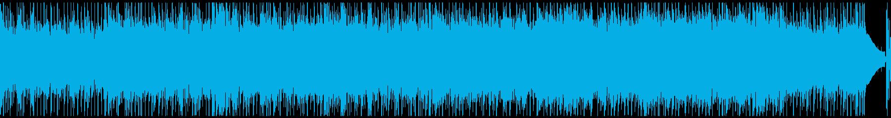 アコギ・流れるような穏やかな日常系BGMの再生済みの波形