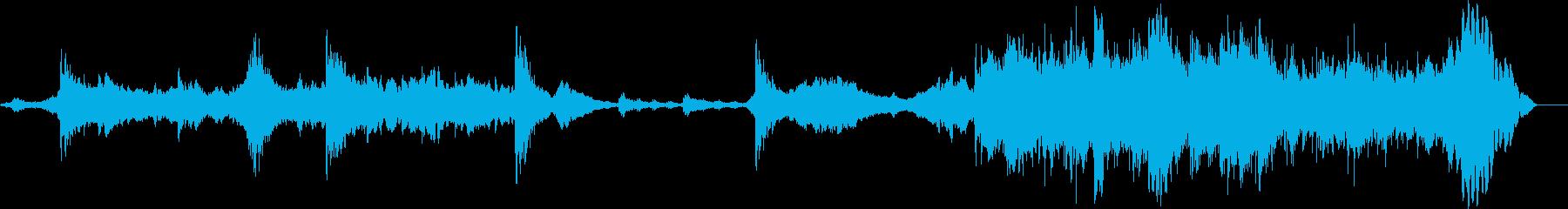アンビエントな空気のような音は、民...の再生済みの波形