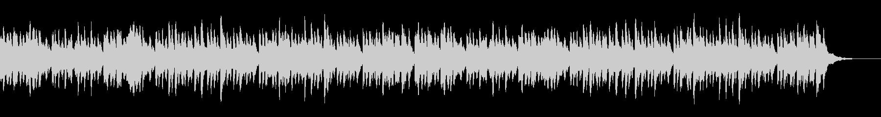 ジングルベル マリンバの未再生の波形