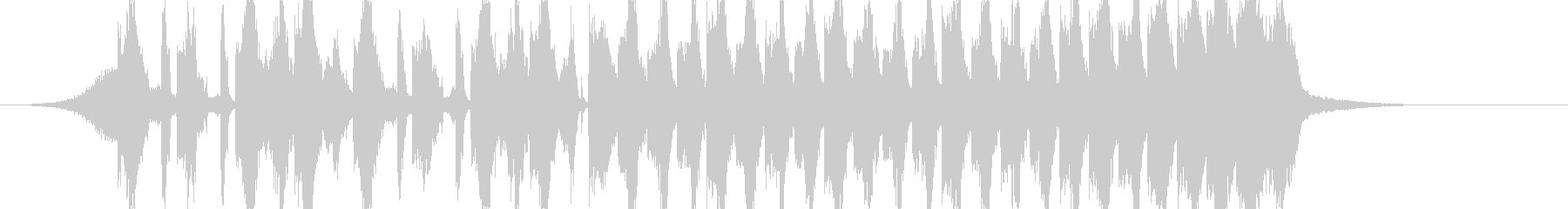 煽りEDM アイネクライネ イントロの未再生の波形