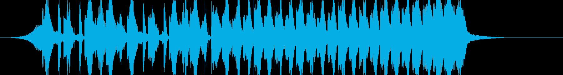 煽りEDM アイネクライネ イントロの再生済みの波形