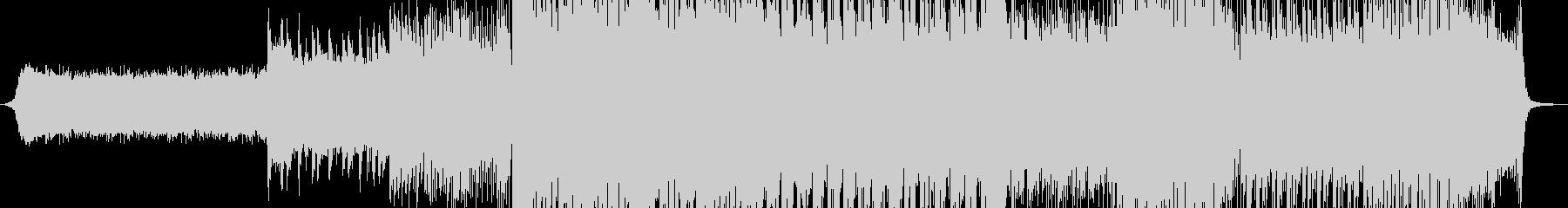 疾走感のある近代的なドラムンベースの未再生の波形