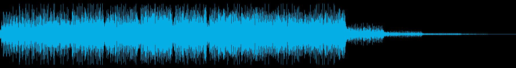 レトロゲーム風 ゲームオーバー ジングルの再生済みの波形