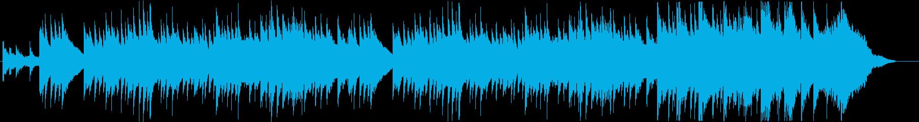 ドラマチック、ニューエイジ、ピアノ...の再生済みの波形