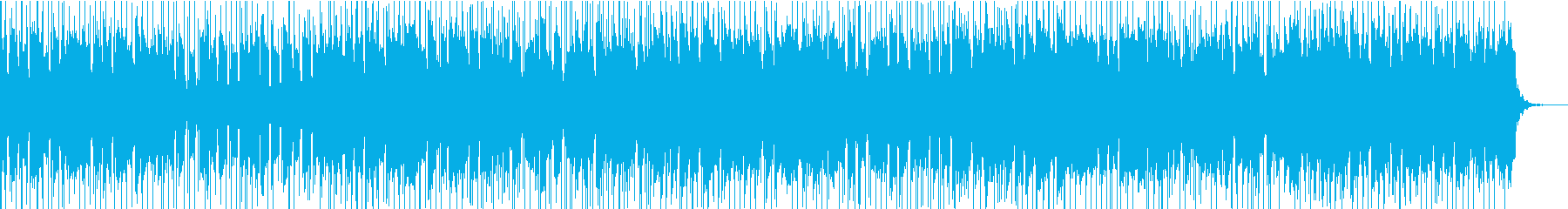ポジティブなインストゥルメンタルラ...の再生済みの波形