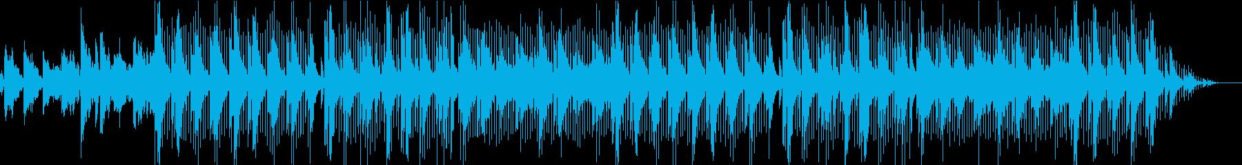 ゆったりとしたお洒落なインストの再生済みの波形