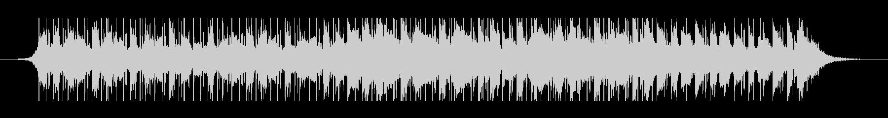 中東のラマダン(60秒)の未再生の波形