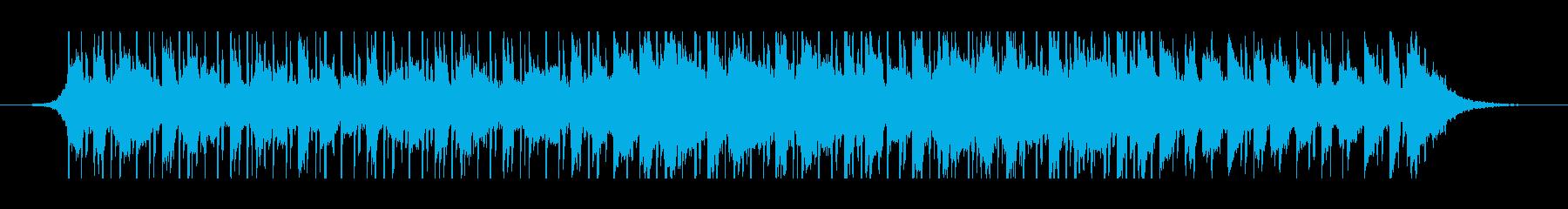 中東のラマダン(60秒)の再生済みの波形