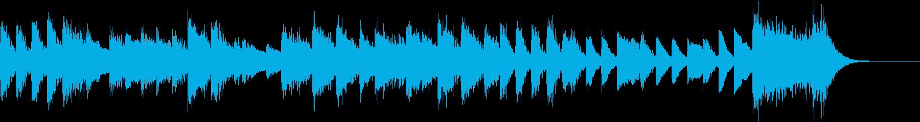 気づよくクールなパワフルピアノジングルの再生済みの波形