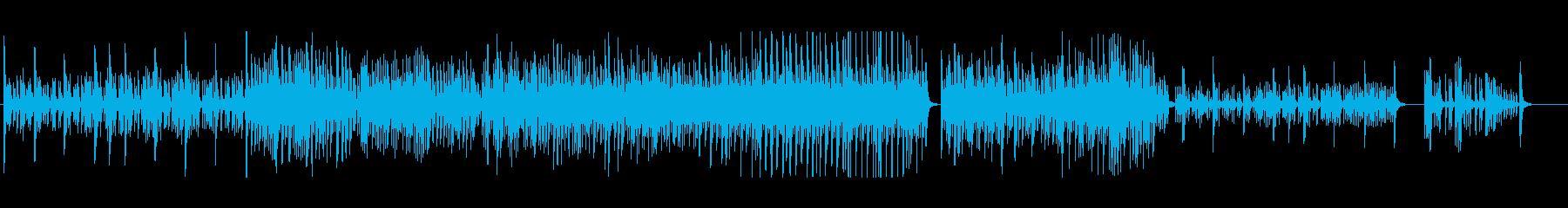 静かな月夜に奏でるマリンバ系BGMの再生済みの波形