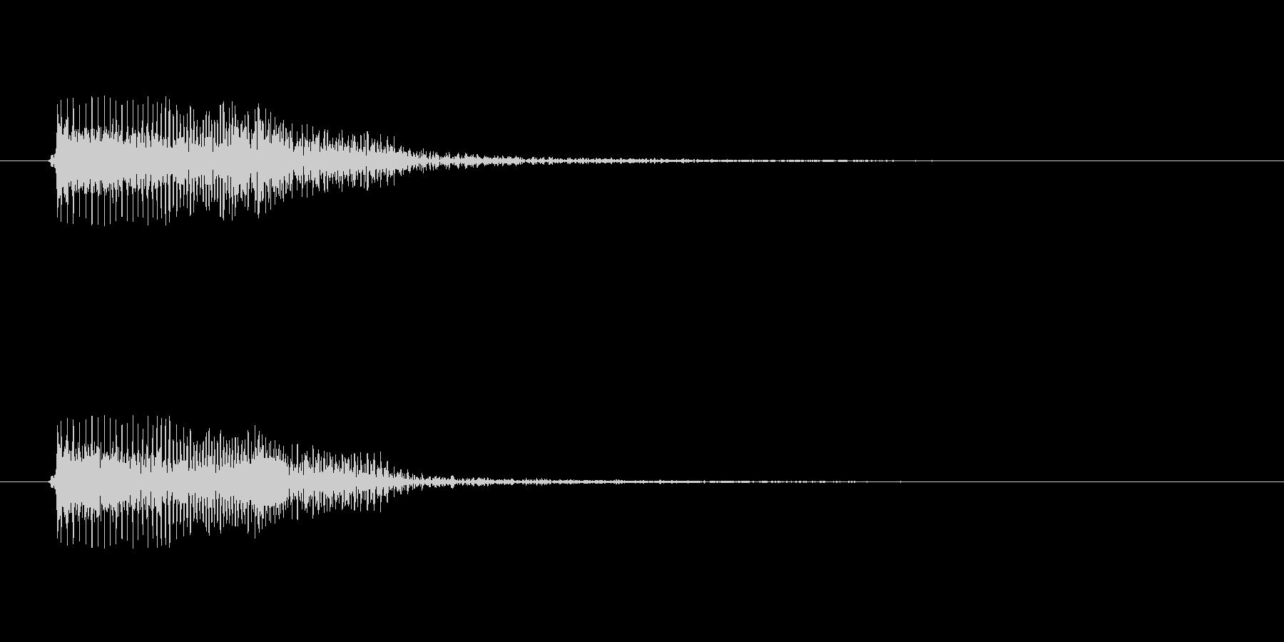 ギターのスライド音ですの未再生の波形