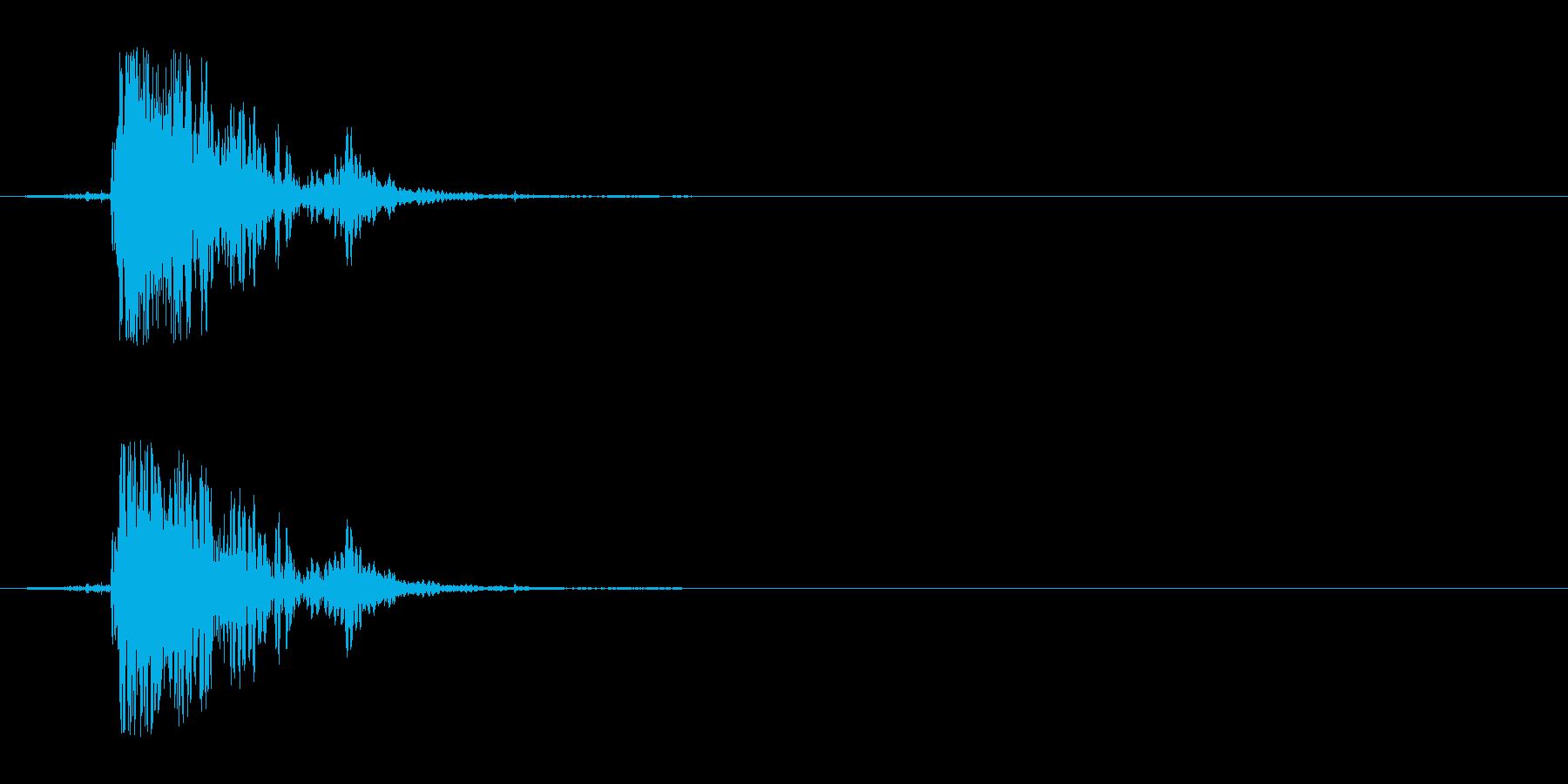 ペーパーヒットピクチャーブレイクの再生済みの波形