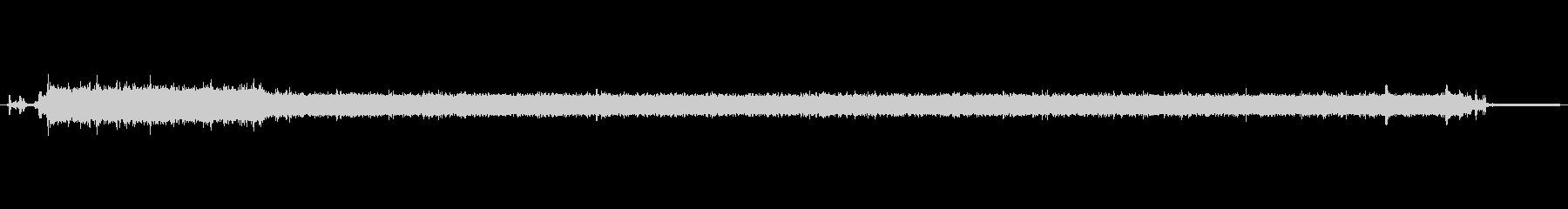 キッチン シンクウォーターポットフ...の未再生の波形