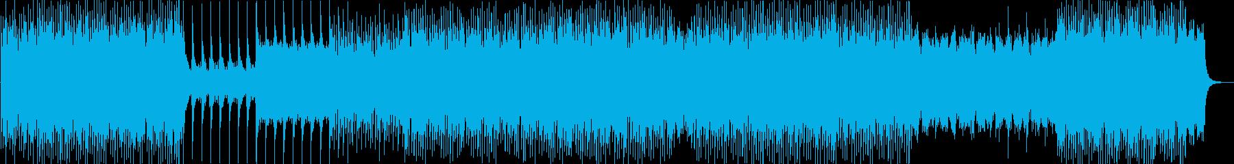 緊迫、クワイアが荘厳なラスボスのテーマの再生済みの波形