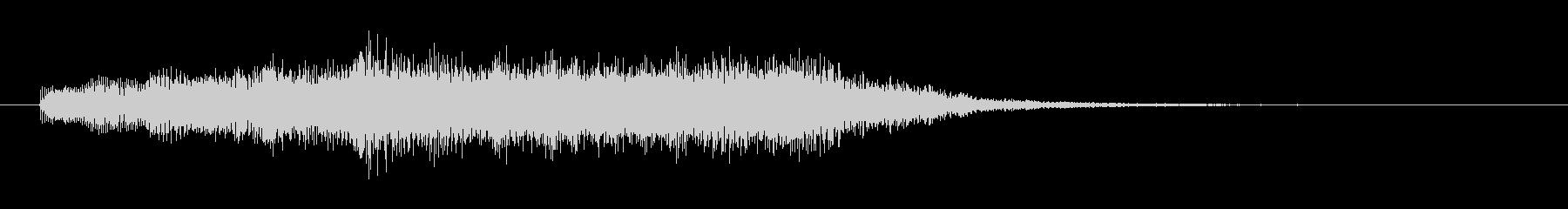 壮大なシンセサイザーコーラスのSE02の未再生の波形
