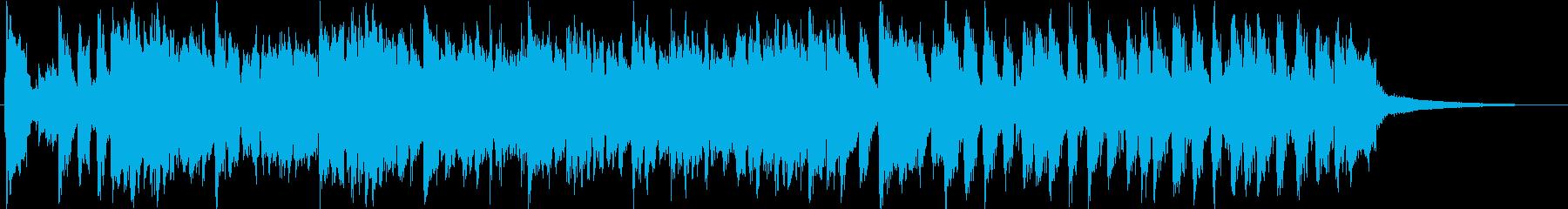短縮版】疾走感&爽やかなアコギポップスの再生済みの波形