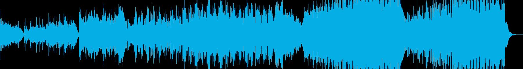 ポップバラード風イージーリスニングの再生済みの波形
