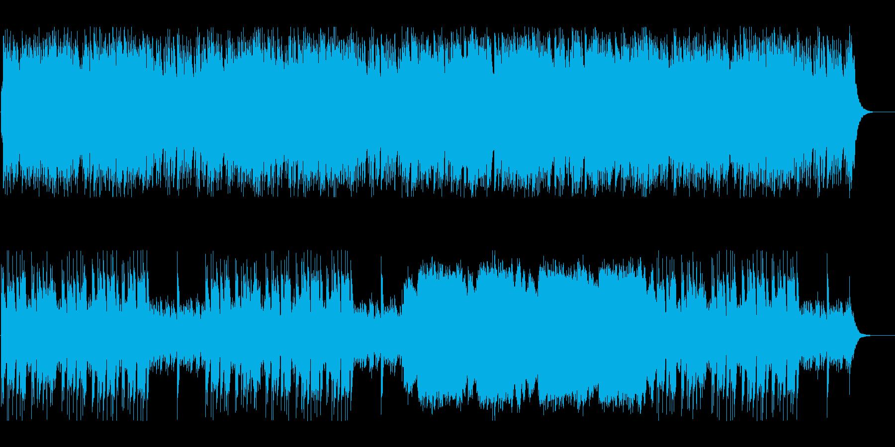 幻想的でやわらかい癒しのBGMの再生済みの波形