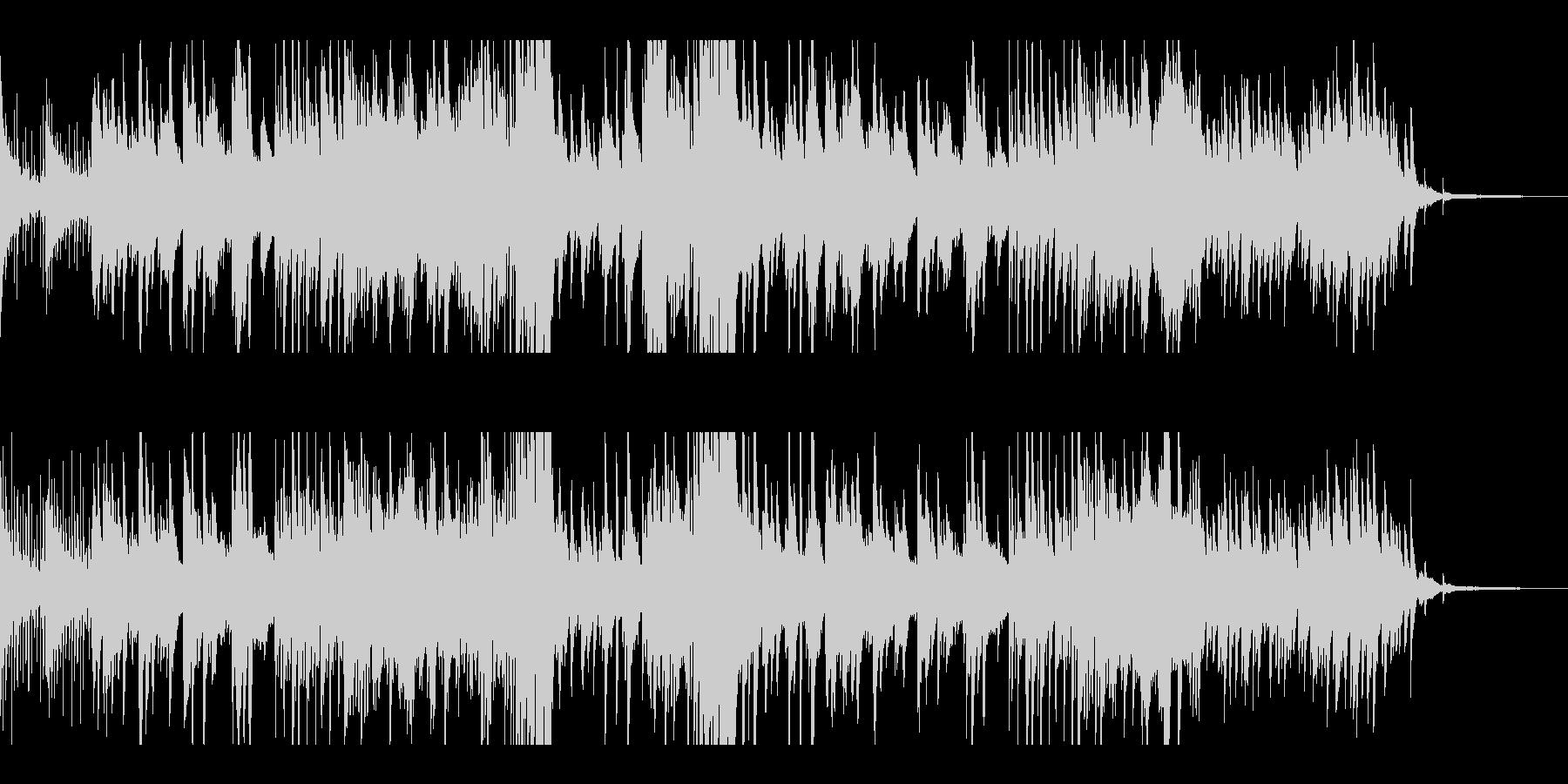 優しく温かいピアノソロの未再生の波形