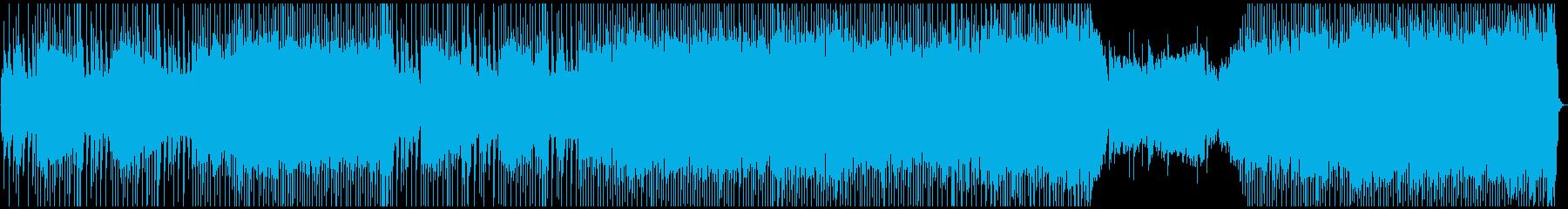 インディーロック 心に強く訴える ...の再生済みの波形