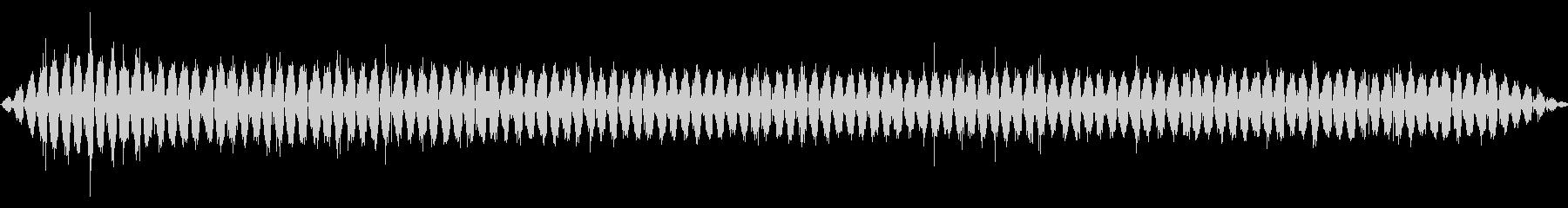 ハンド:スロースムースサンディング...の未再生の波形