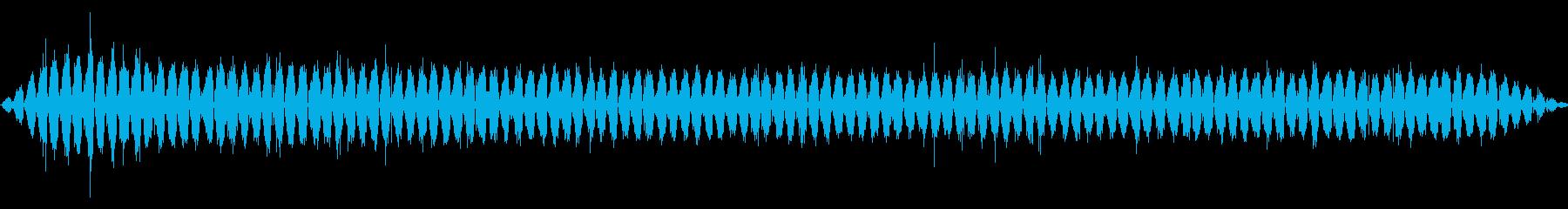 ハンド:スロースムースサンディング...の再生済みの波形