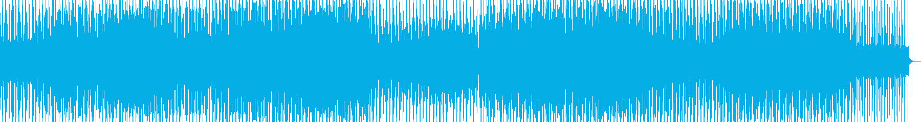 夏/海/爽快感/ハウスの再生済みの波形