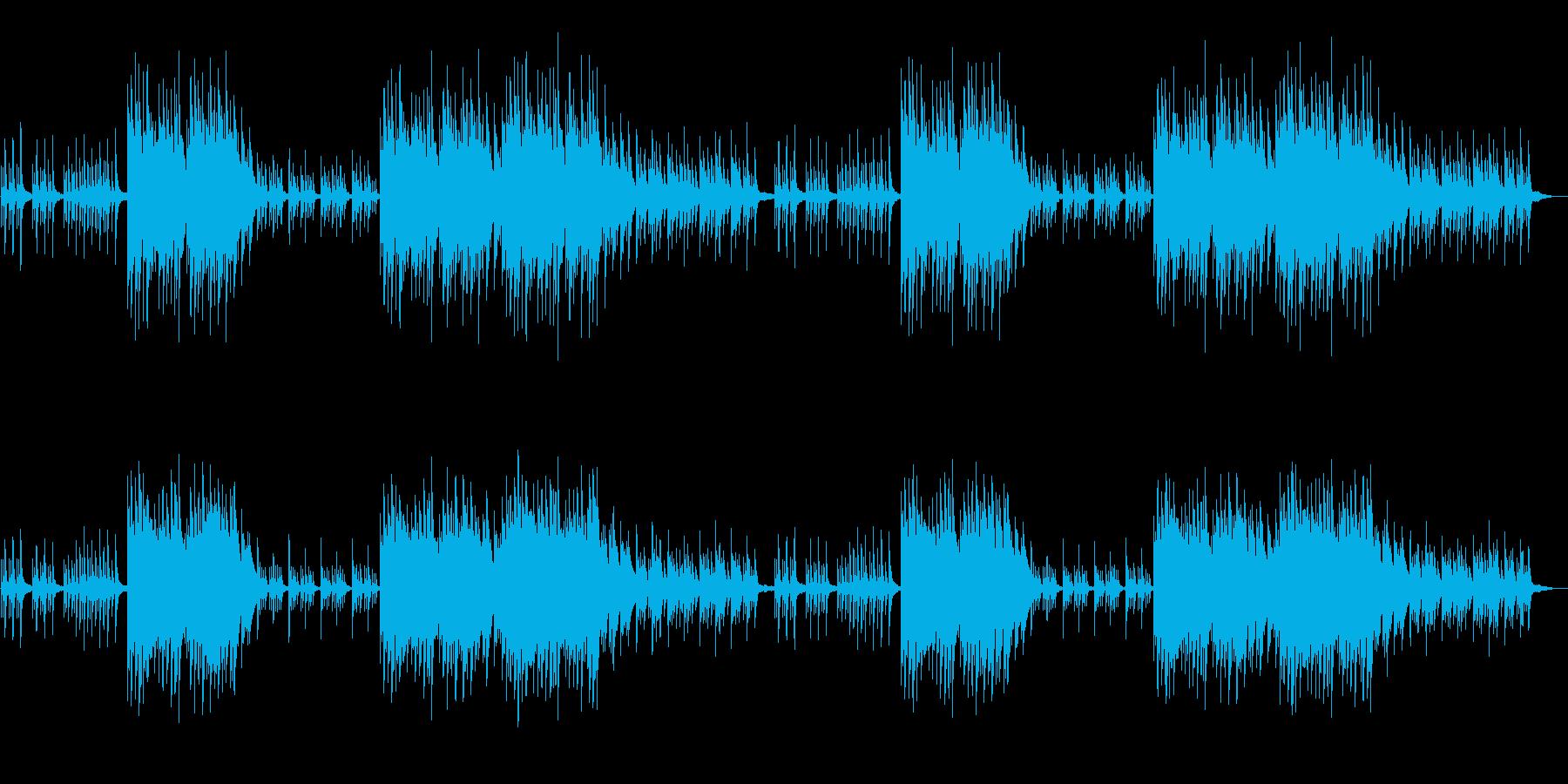 ノスタルジックで切ないピアノソロの再生済みの波形