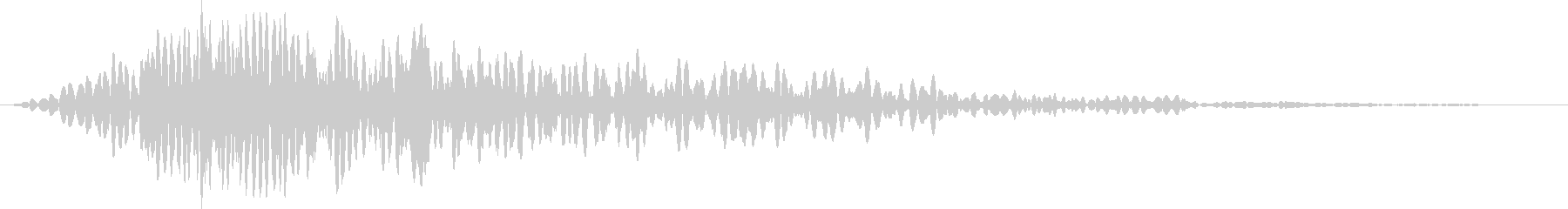 ドン(タイトル、予告等)の未再生の波形