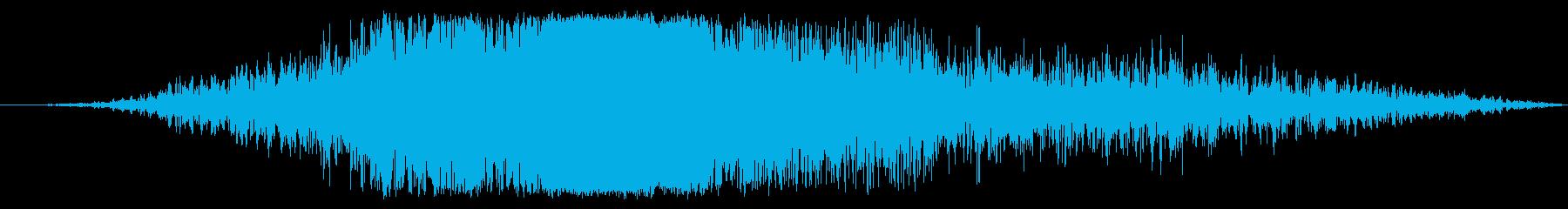 ボーイング737旅客機:内線:接近...の再生済みの波形