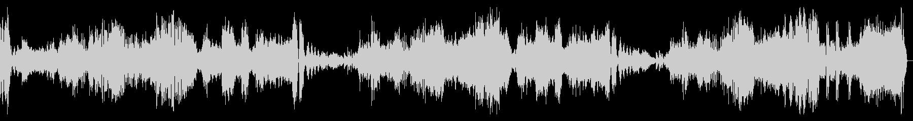 熱情 第三楽章 ベートーヴェンの未再生の波形