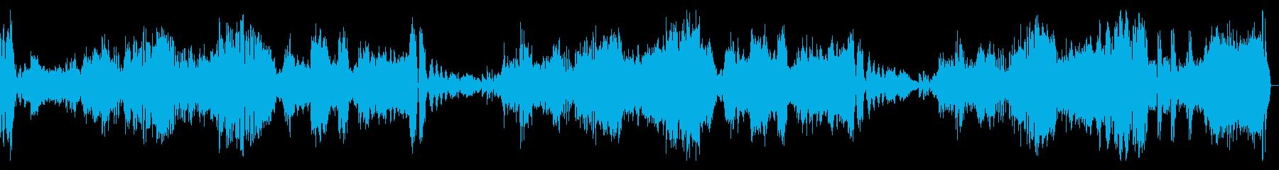 熱情 第三楽章 ベートーヴェンの再生済みの波形