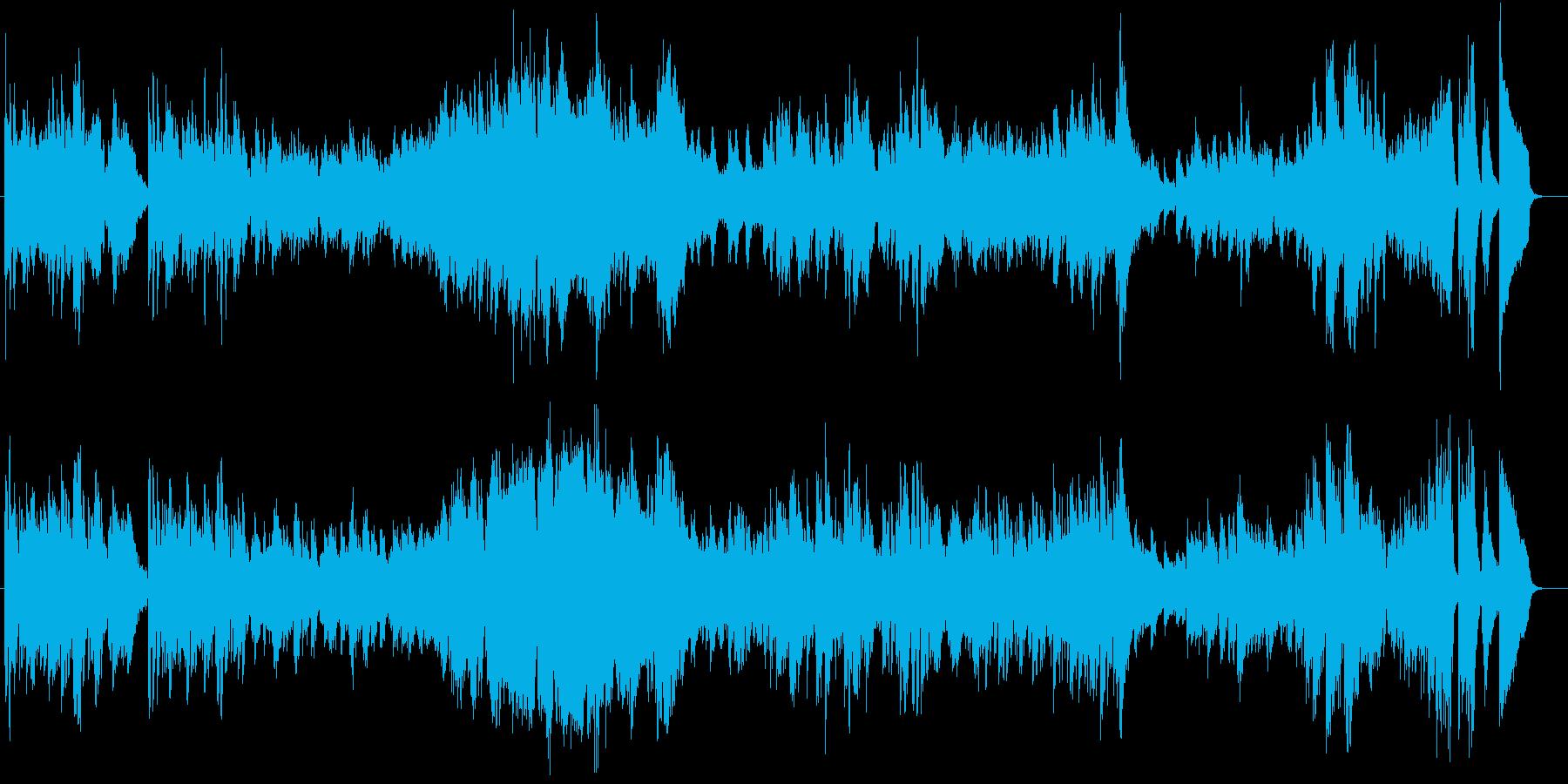 黒鍵のエチュードの再生済みの波形