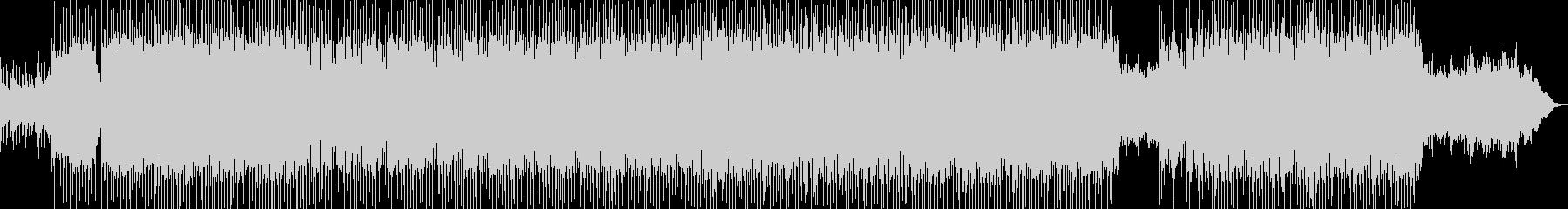 ピアノオルガンのキラキラ楽しいオーケストの未再生の波形
