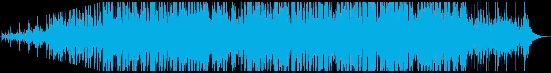 民謡 淡々 木製ギターの再生済みの波形