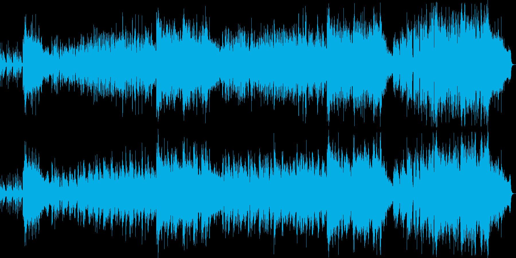 優しい雰囲気のバラード6の再生済みの波形