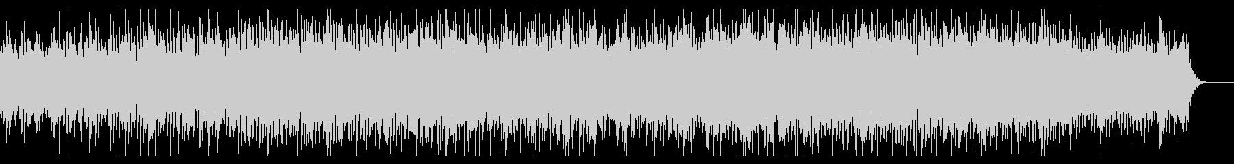 ダークでディープなハウス・テクノの未再生の波形
