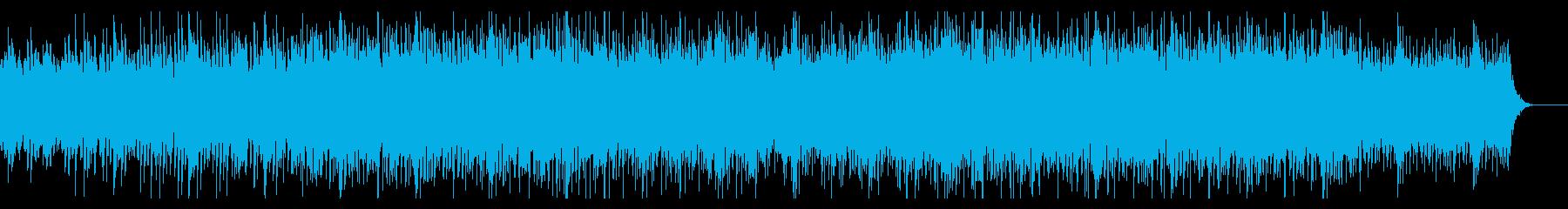 ダークでディープなハウス・テクノの再生済みの波形