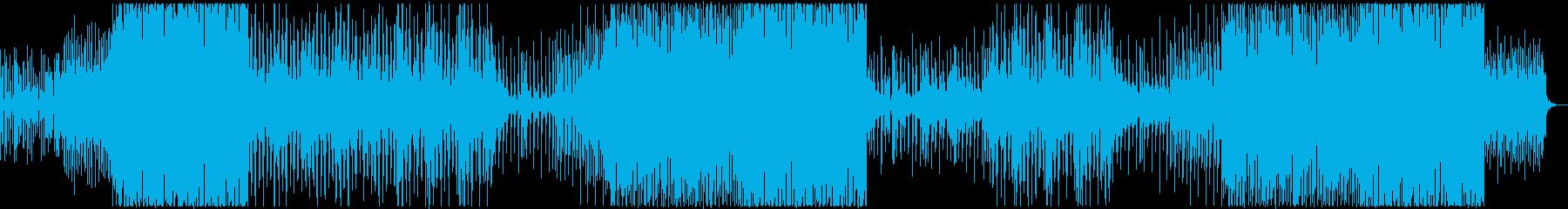 kawaii 可愛いサウンドのEDMの再生済みの波形